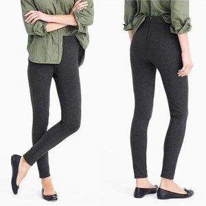 J. Crew Pixie Pants in Stretch Ponte Charcoal 2